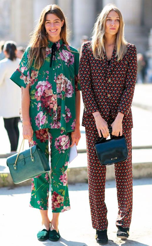Pajamas are still on trend for Spring 2017 | Girlfriend is Better