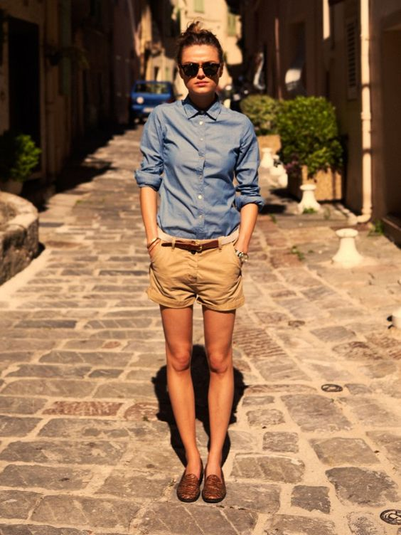 Heading in to Spring with penny loafers | Girlfriend is Better