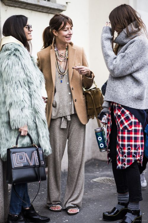 Milan Fashion Week 2015   Plaid fashion   Girlfriend is Better