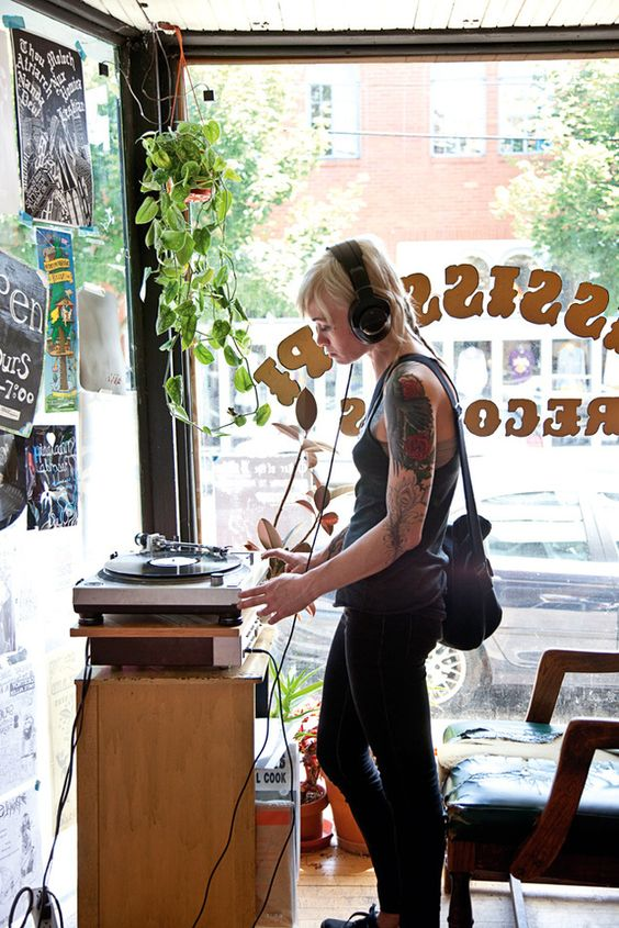 Record shops galore!   Portland Oregon travel guide   Girlfriend is Better