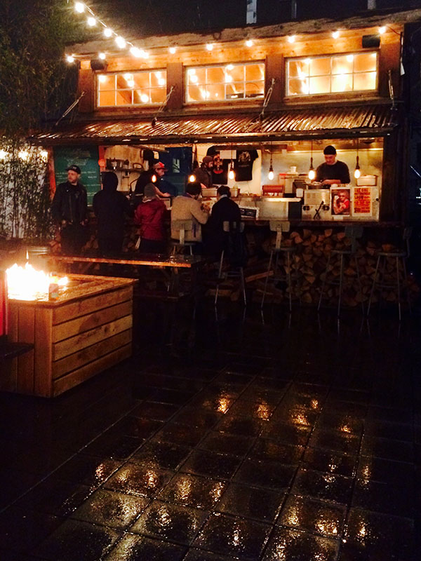 Food carts at night   Portland Oregon travel guide   Girlfriend is Better