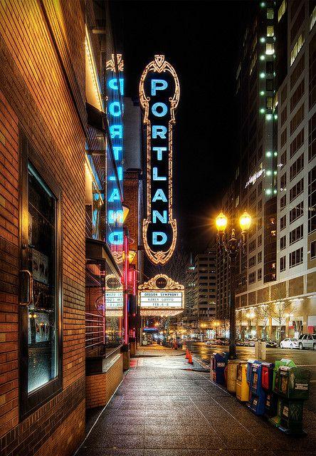 Portland sign   Portland Oregon travel guide   Girlfriend is Better