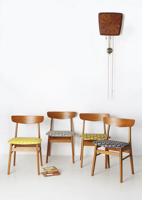 Reupholstering mid-century modern chairs | Girlfriend is Better
