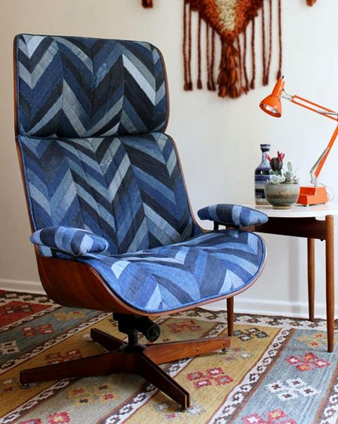 Reupholstering furniture | Eames lounge chair | Girlfriend is Better