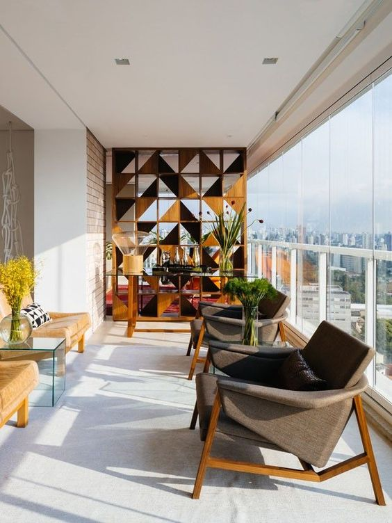 Mid-century modern room dividers + partitions   Girlfriend is Better