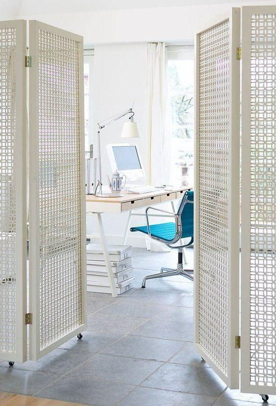 Mid-century modern room dividers + partitions   Create a separate wok space   Girlfriend is Better