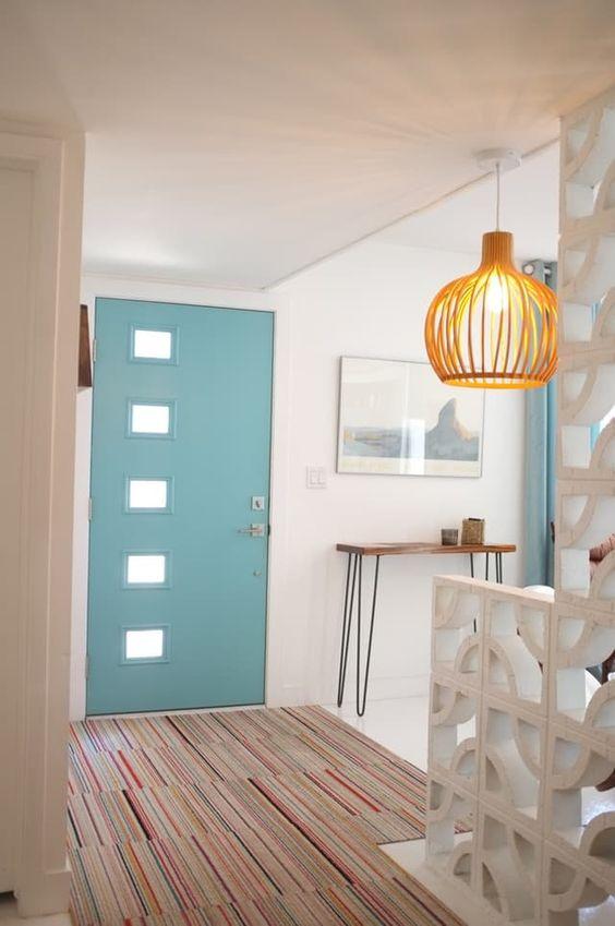 mid-century modern Ralph Haver patio home   Room dividers + breeze blocks   Girlfriend is Better