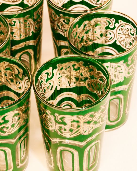 Vintage tumblers   Bianca cocktail glasses   Girlfriend is Better