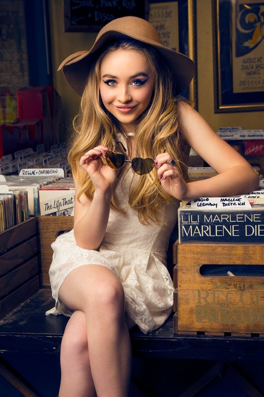 5 cell phone rules for healthy teens   Sabrina Carpenter with vinyl   Girlfriend is Better