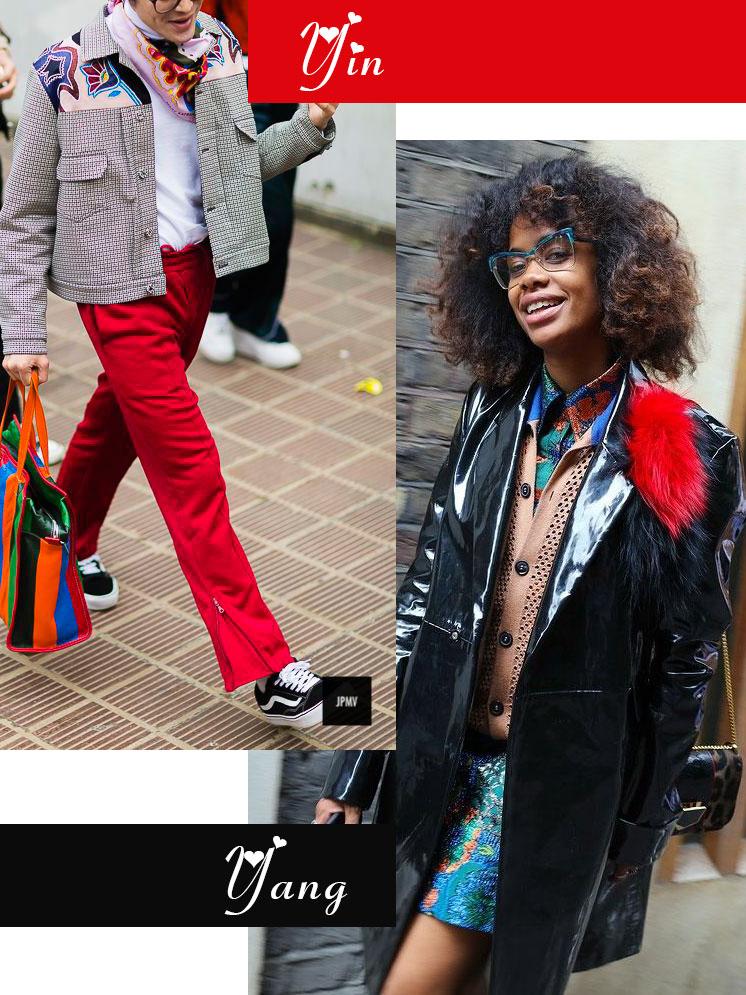 Galentine's Day fashion mash-up | Nerd style yin + yang | Girlfriend is Better