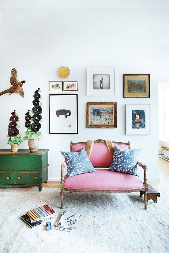 Use local art from travels to create a gallery wall | Girlfriend is Better