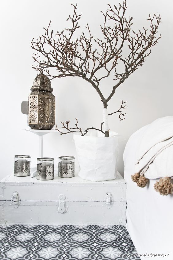 Moroccan lamps add romance to a bedroom   Bohemian eclectic decor   Girlfriend is Better