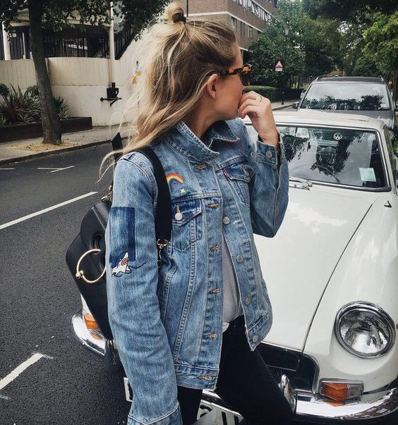 Best patches for a denim jacket   Girlfriend is Better