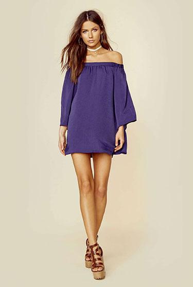 Tru Blu Miranda Mini Dress   Girlfriend is Better