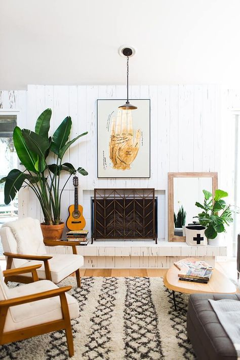 Use wood elements + plants in the family center of your home | Feng Shui decor | Girlfriend is Better