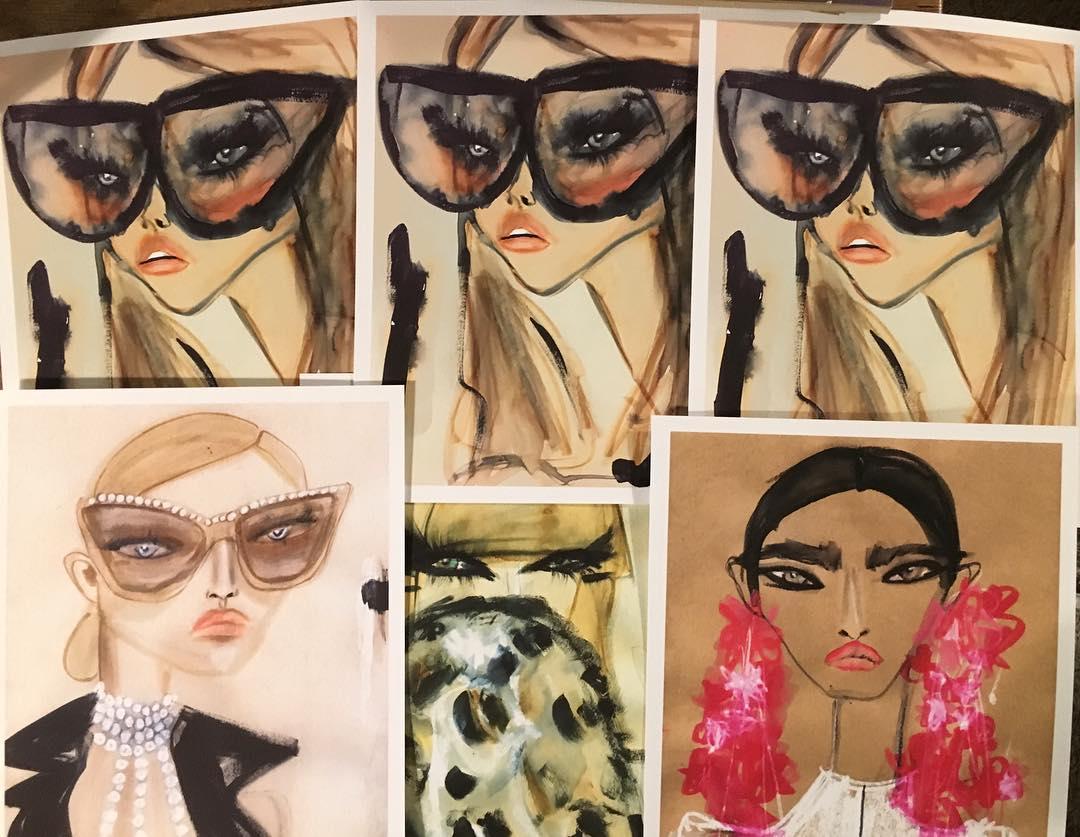 Fashion illustration by Blair Breitenstein   Girlfriend is Better