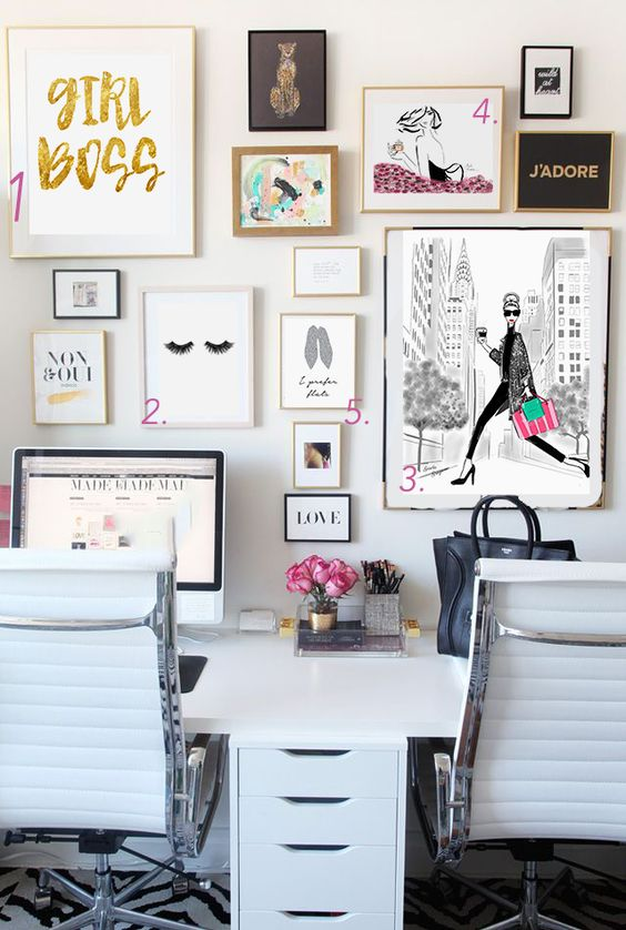 Girl boss office and planners for every personality | Girlfriend is Better