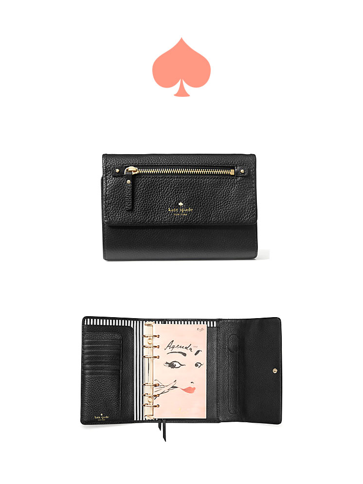Cobble Hill Large Agenda by Kate Spade | perfect planners for any girl boss | Girlfriend is Better