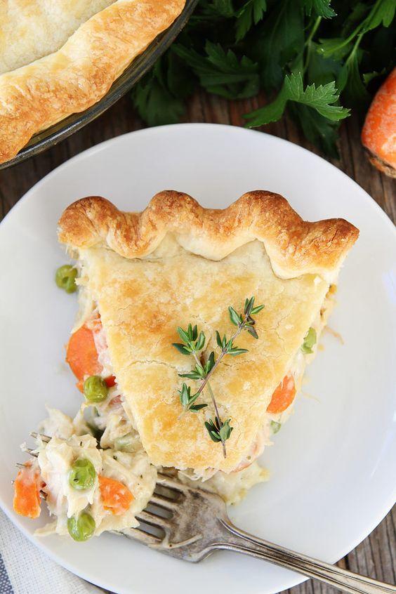 Chicken Pot Pie recipe   Healthy comfort food   Girlfriend is Better