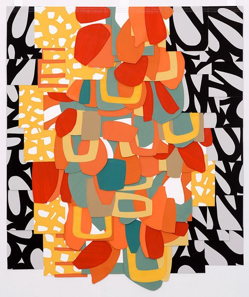 Raymond Saá abstract collage   Girlfriend is Better