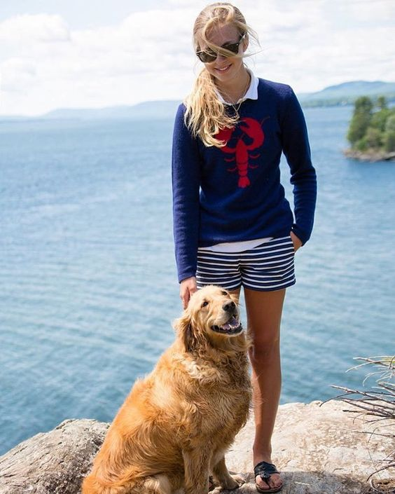 Preppy nautical outfit for Memorial Day | Girlfriend is Better