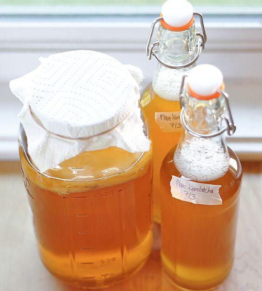 Homemade Komucha tea | Digestive health | Girlfriend is Better