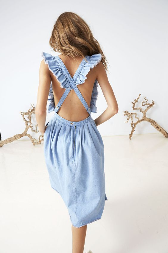 Pinafores and overalls with ruffles | Girlfriend is Better