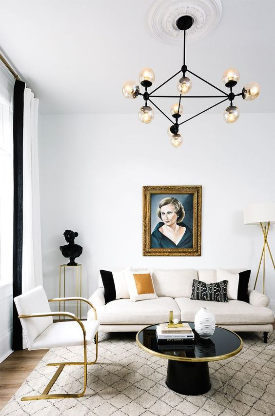 Inspirational portraits for the living room | Girlfriend is Better