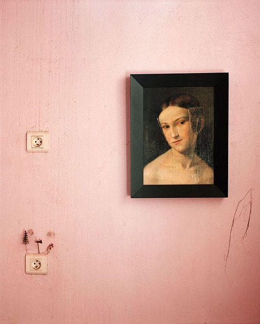 Vintage portraits for closets and secret spaces | Girlfriend is Better
