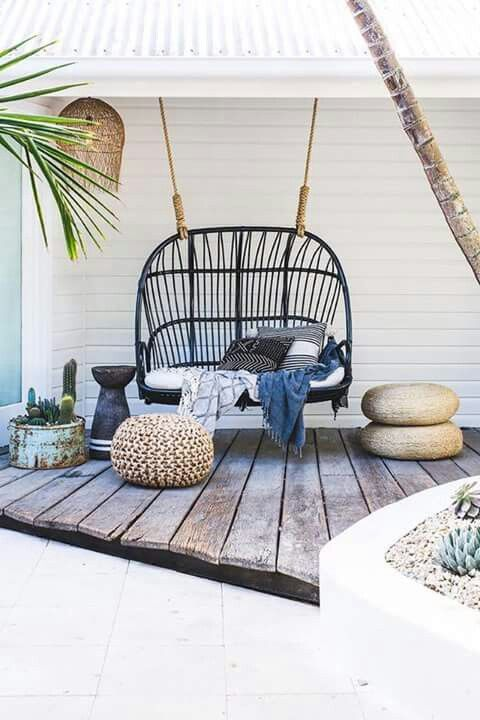 Bamboo chair or sofa alternative   Rustic porch swing   Girlfriend is Better