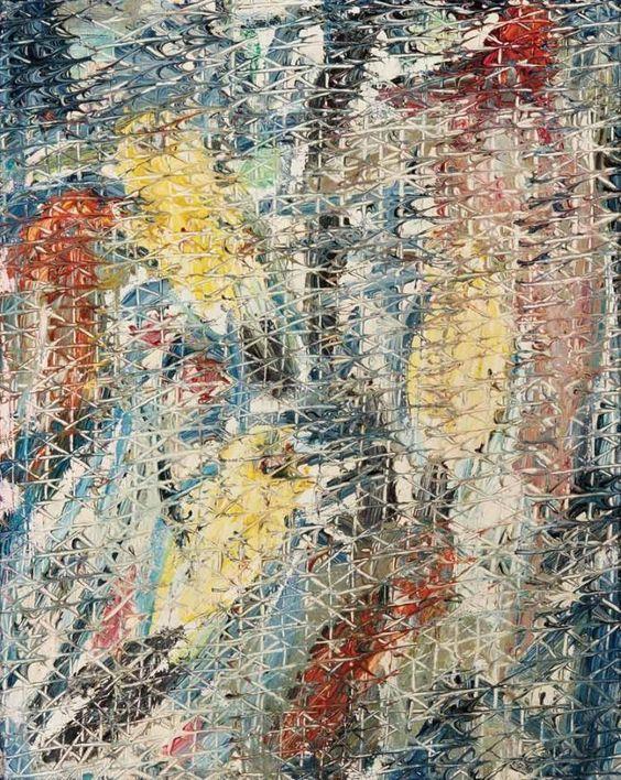 """Acadia Bunga Bunga"" by Hunt Slonem   Oil painting   Girlfriend is Better"