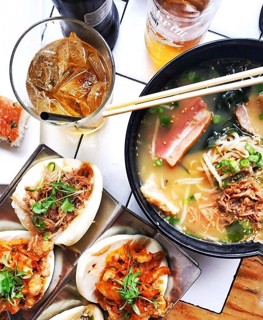 Underbelly ramen noodle bowl Little Italy San Diego | Girlfriend is Better