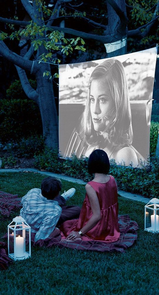 Host a movie night on your home patio | Girlfriend is Better