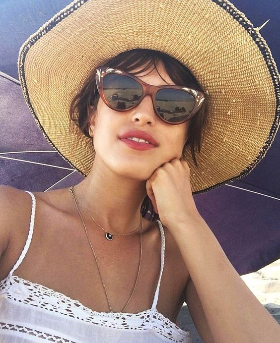 Sun straw hats in French girl style for summer   Girlfriend is Better