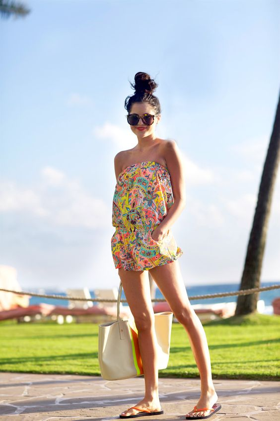 Rompers and playsuits in Summer florals | Girlfriend is Better