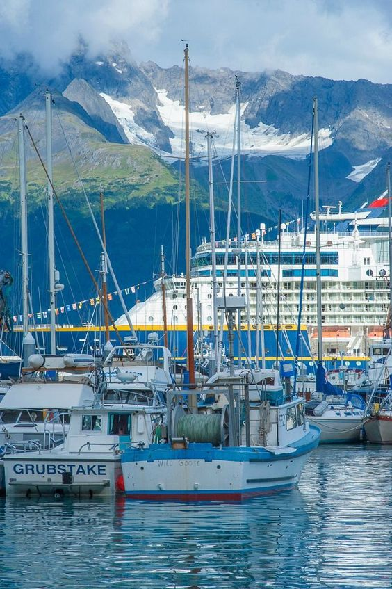 Seward Harbor in Alaska | Travel Guide | Girlfriend is Better