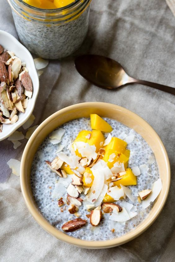 Chia Seed Pudding With Coconut Milk Recipe   Girlfriend is Better