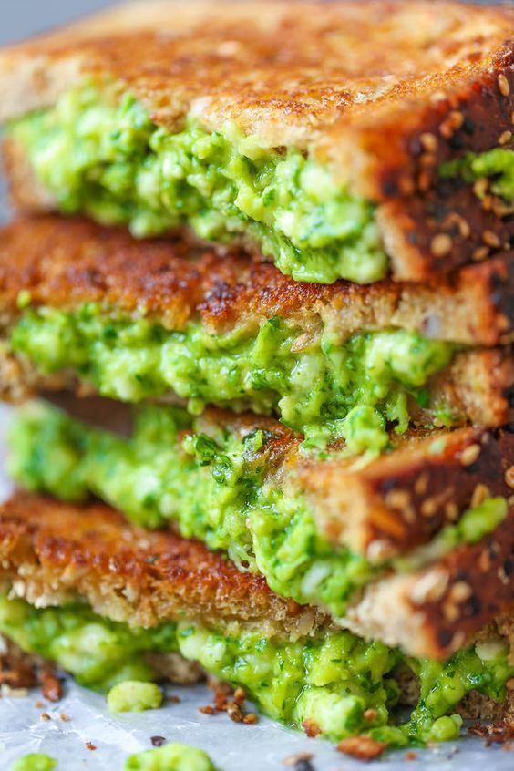 Avocado Grilled Cheese recipe   Avocado toast upgrades   Girlfriend is Better