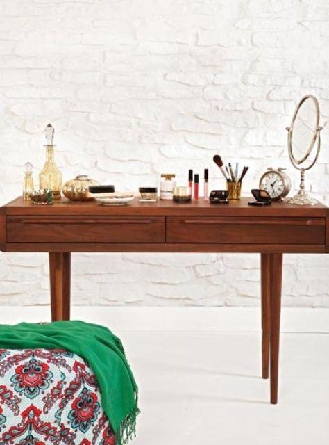 Mid-century modern dressing tables   Girlfriend is Better