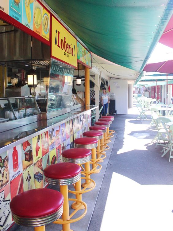 Loteria Grill at the food court of The Original Farmer's Market at the Grove in Los Angeles | Girlfriend is Better