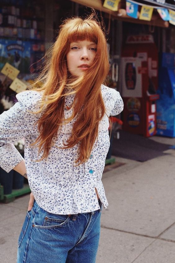 Brianna Lance with gorgeous ginger orange red hair   Girlfriend is Better