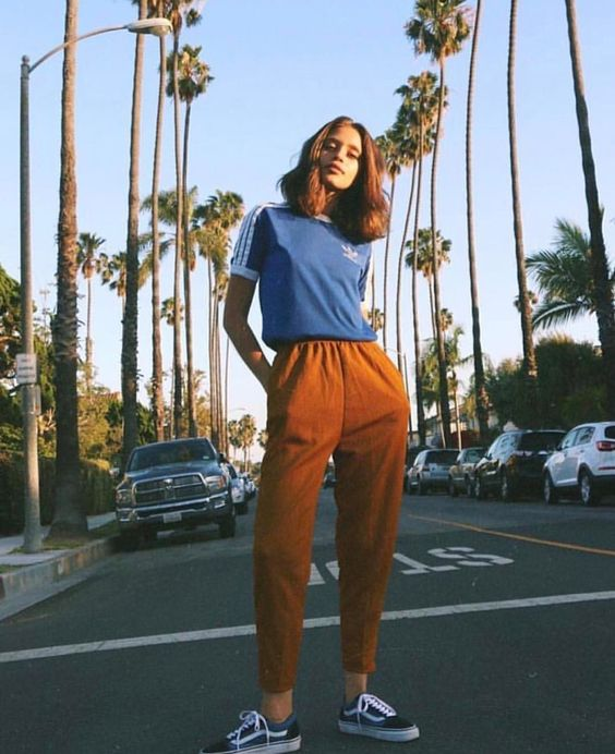 Orange track pants   Girlfriend is Better