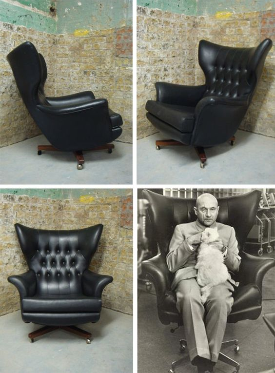 Iconic mid-century modern wingback chair | Girlfriend is Better