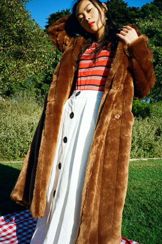 Long fur coats for Fall and Winter | Girlfriend is Better