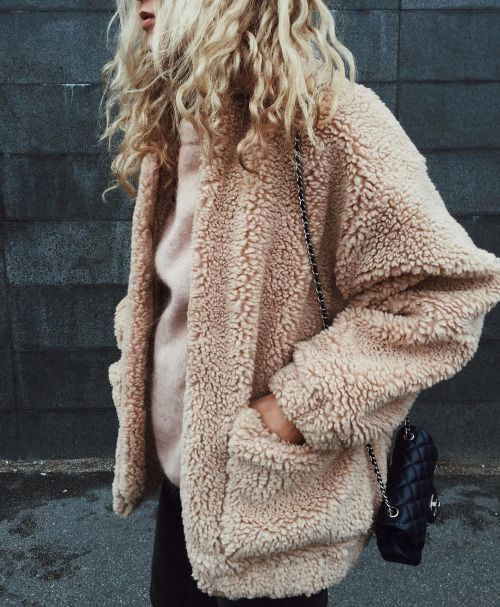 Teddy fur coats for Fall and Winter | Girlfriend is Better