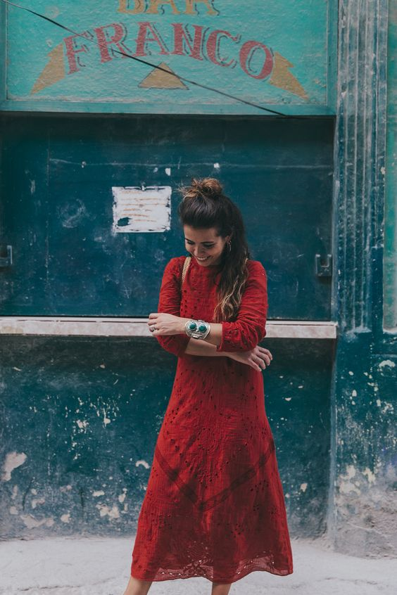 Red Zara Dress romance   Girlfriend is Better