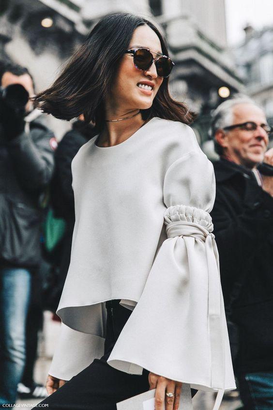 Bells on sleeves   Winter blouse   Girlfriend is Better