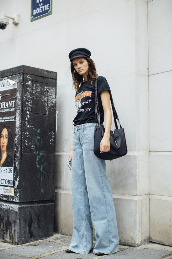 Flared bells   Bell bottom jeans   High-waisted denim   Girlfriend is Better