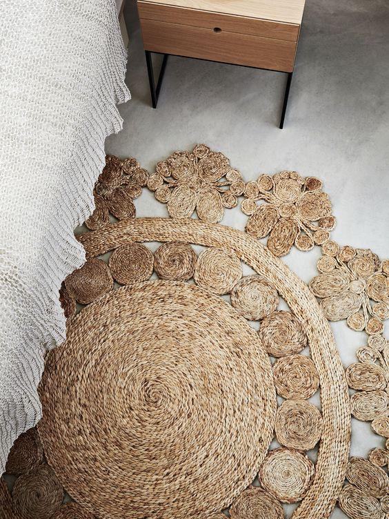 Marigold rug sun weave | Celestial decor | Girlfriend is Better