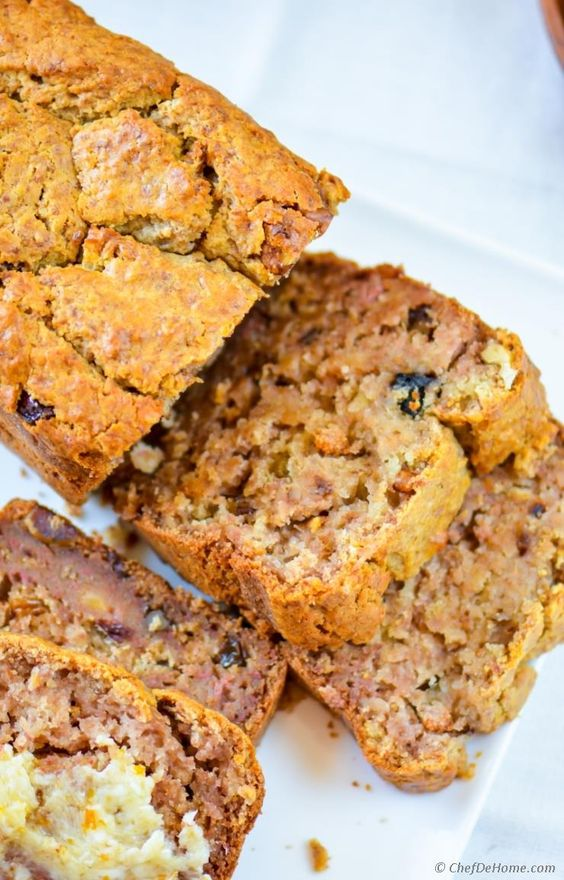 Persimmon Banana Nut Bread | Persimmons recipes | Girlfriend is Better